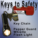 Keys to Safety - Remember Self Defense while you travel!